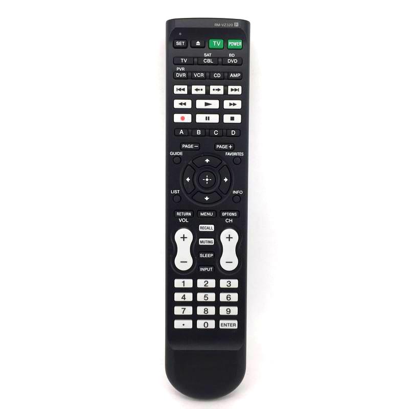 Used ORIGINAL Universal RM-VZ320 FOR SONY AV Receiver Blu-Ray Disc Player Remote Control Fernbedienung