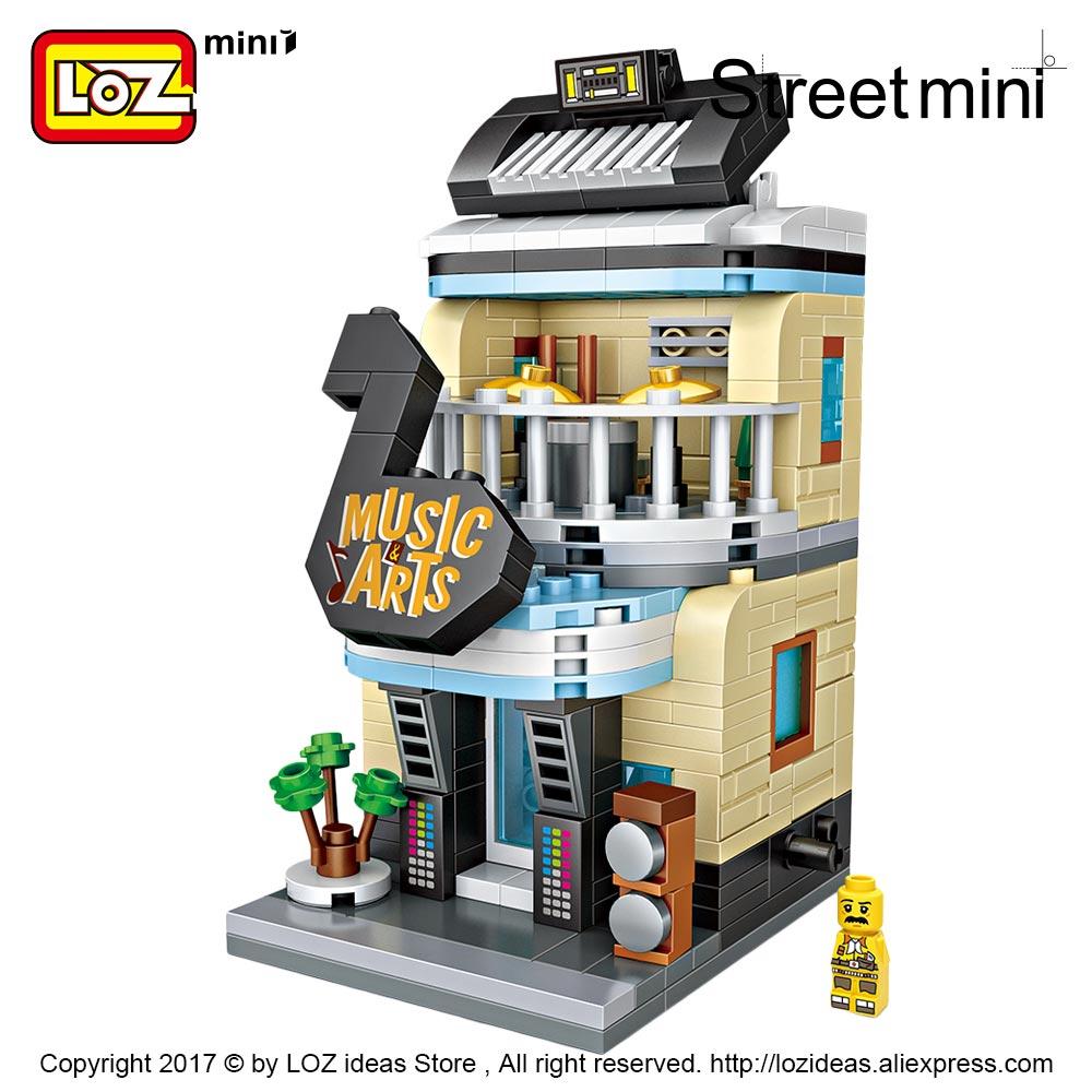 Blocos de montagem edifício bloco quadrado Series : Street Mini