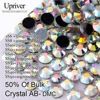 Bulk Verpakking Shiny Stones Plaksteen Beste Kwaliteit Crystal AB Hotfix Steentjes Forcrystal Appliques Voor Trouwjurken