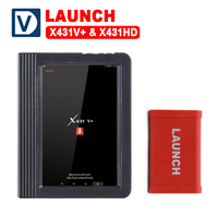 Launch X431 V+ & X431 HD heavy duty 10.1 Screen Tablet Bluetooth/wifi auto diagnostic scanner test for 12V/24V truck