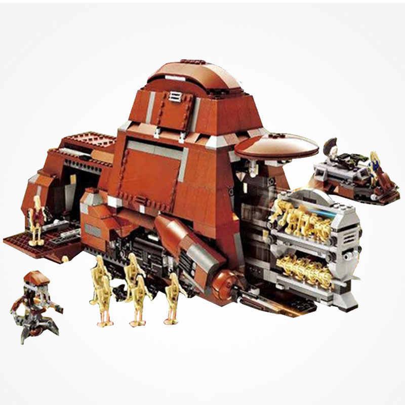 Star Wars Trade Federation MTT The Phantom Menace Movie Series Set Legoing  Star Wars Building Blocks Toys Gifts Legoing Starwars
