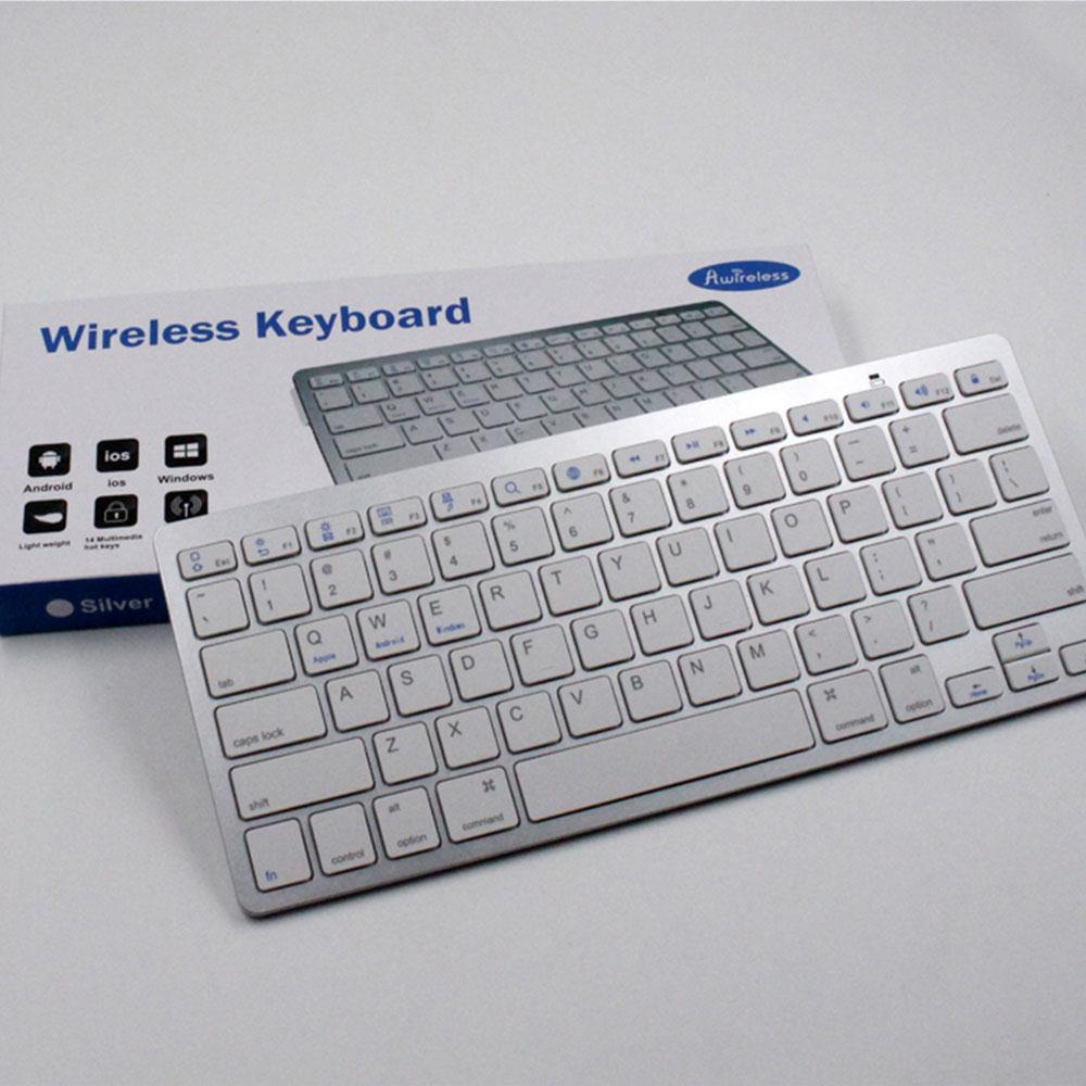Cewaal Wireless Bluetooth Keyboard 2 4G For IMac Macbook IPhone IPad
