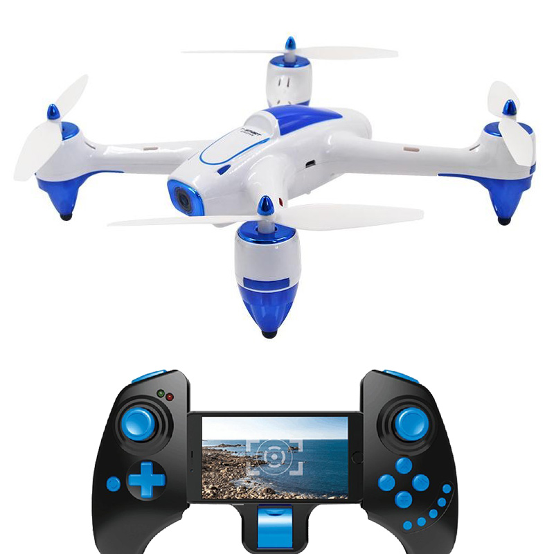 RC Quadcopter XBM-55W Drone with Camera WiFi HD 2.0MP 720P FPV Drones Real Time Transmission Toys RC Helicopter Drone Camera newest apple shape foldable wifi fpv rc drone rc130 2 4g apple quadcopter with 6axis gryo with 720p wifi hd camera rc drones