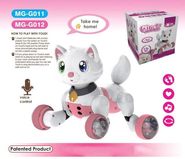 jouet chat electronique