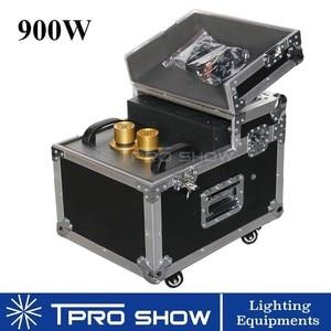 Image 1 - 900 W Hazer Rookmachine Dmx512 Dual Nozzle Fog Haze Podium Verlichting Effect In Flight Case Apparatuur DJ Club Bruiloft 600 W Rookmachine