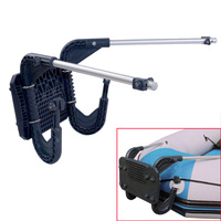 Inflatable Fishing Boat Engine Motor Mount Kit Raft Boat Water Sports Motor Support Racket