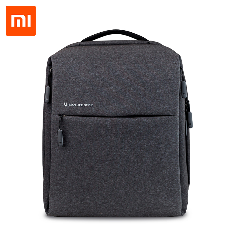 original Xiaomi Backpack Mi Minimalist Urban Life Style Polyester Backpacks for School Business Travel Men's Bag Large Capacity