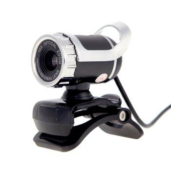 b51d517ddd 5 * USB 2,0 12 megapíxeles HD cámara Web 360 grados con MIC Clip-on para  Skype Escritorio ordenador PC portátil