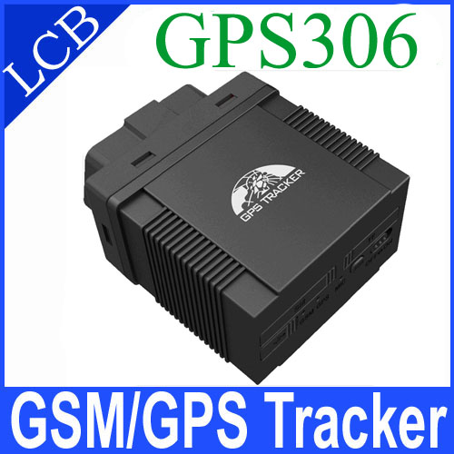 Mini GPS Tracker GPS-306B OBD II GPS Tracker for Taxi / Vehicle Fleet Management Support IOS & Android APP Rastreador image