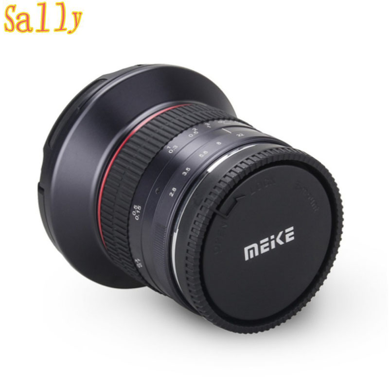 Meike 12mm f/2.8 Ultra Wide Angle Fixed Lens with Removeable Hood for Fujifilm Mirrorless Camera X Mount with APS C