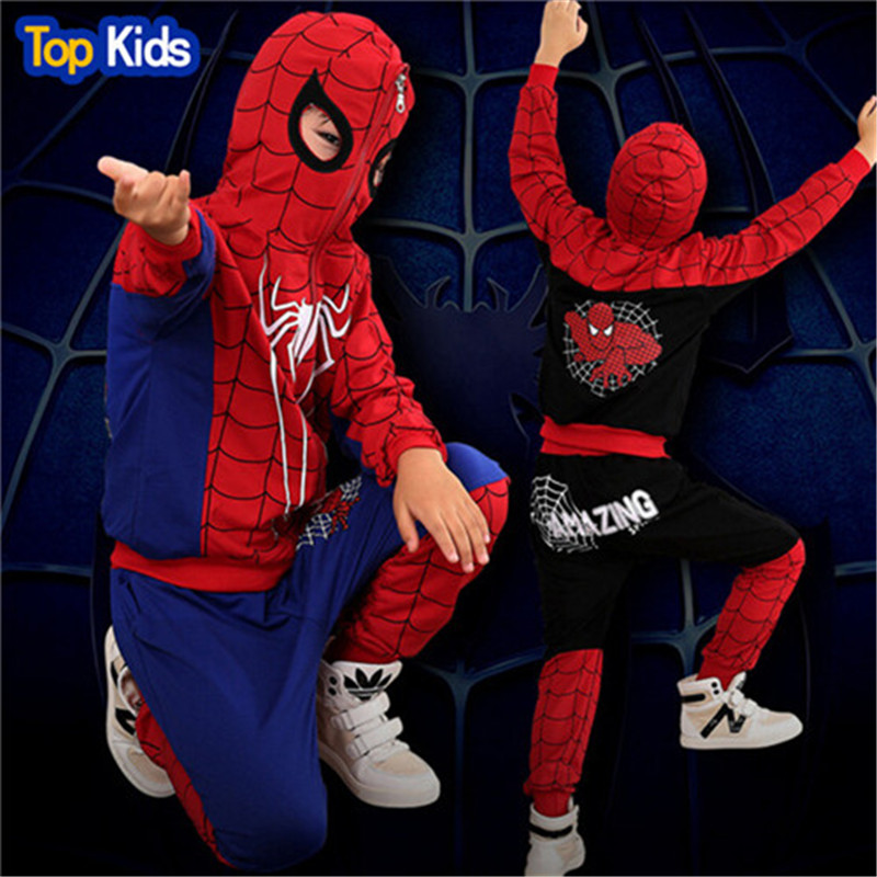 Spiderman Stay Hungry Boy/'s XS Shirt