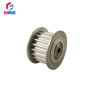 2pcs HTD3M-30T Timing Idler Pulley 30 Teeth 5/6/7/8/10/12mm Bore Idle Belt Pulley 11/16mm Belt Width Bearing Synchronous Wheel