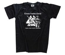 Einen freien Geist kann man nicht  Wikinger Germanen T-Shirt S - 3XL Harajuku Tops Fashion Classic Unique t-Shirt gift