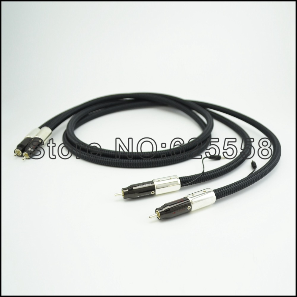 Hifi New Model WEL SIGNATURE  RCA INTERCONNECT AUDIOPHILE CABLE A PAIR