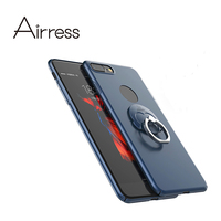 Airress Ultra Thin Phone Case Cover With 360 Degree Rotated Ring Buckle Kickstand For Iphone 7