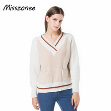 Misszonee new autumn and winter  sweaters Pullovers Woman Stretch Knitted Sweater Women Elastic All Match Size Jumper Basic Tops
