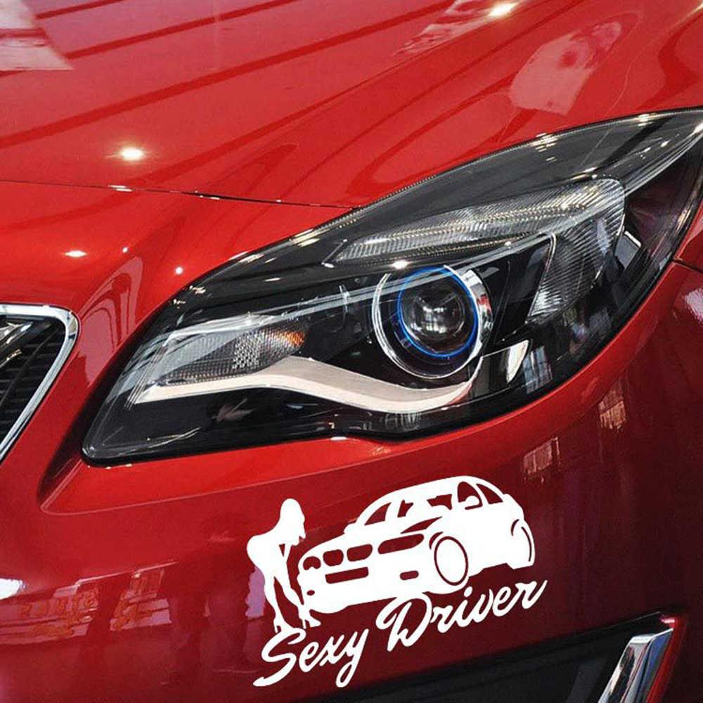 Aliauto Seks Driver Reflektif Car Sticker Dan Decal Aksesoris Untuk Volkwagen Polo Golf 4 5 6 7 Mazda 3 Skoda Toyota Opel Bmw