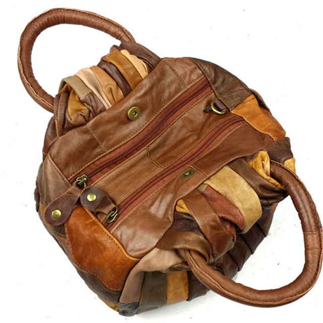 Fashion Ladies Geniune Leather Handbags Crossbody Bag Women Famous Brands Designers Chain Vintage Bag Shoulder Bags Messenger