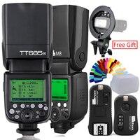 Godox TT685C Flash TTL HSS Kamera Flash speedlite + X1T N Trigger ODER Pixel M8 2 4g Wireles Speedlite + flash Trigger Für Nikon-in Blitze aus Verbraucherelektronik bei