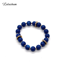 SANYU 2018 New Fashionable Personality Temperament String Alloy Resin Retro Bracelet Christmas Gift Fit Pandora BR-1577