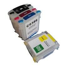 цена на Vilaxh For HP 88 Emtpy Refillable Cartridges For HP Officejet Pro K5300/K5400/K8600/L7380/L7500/L7580/L7590/L7680/L7780/K550