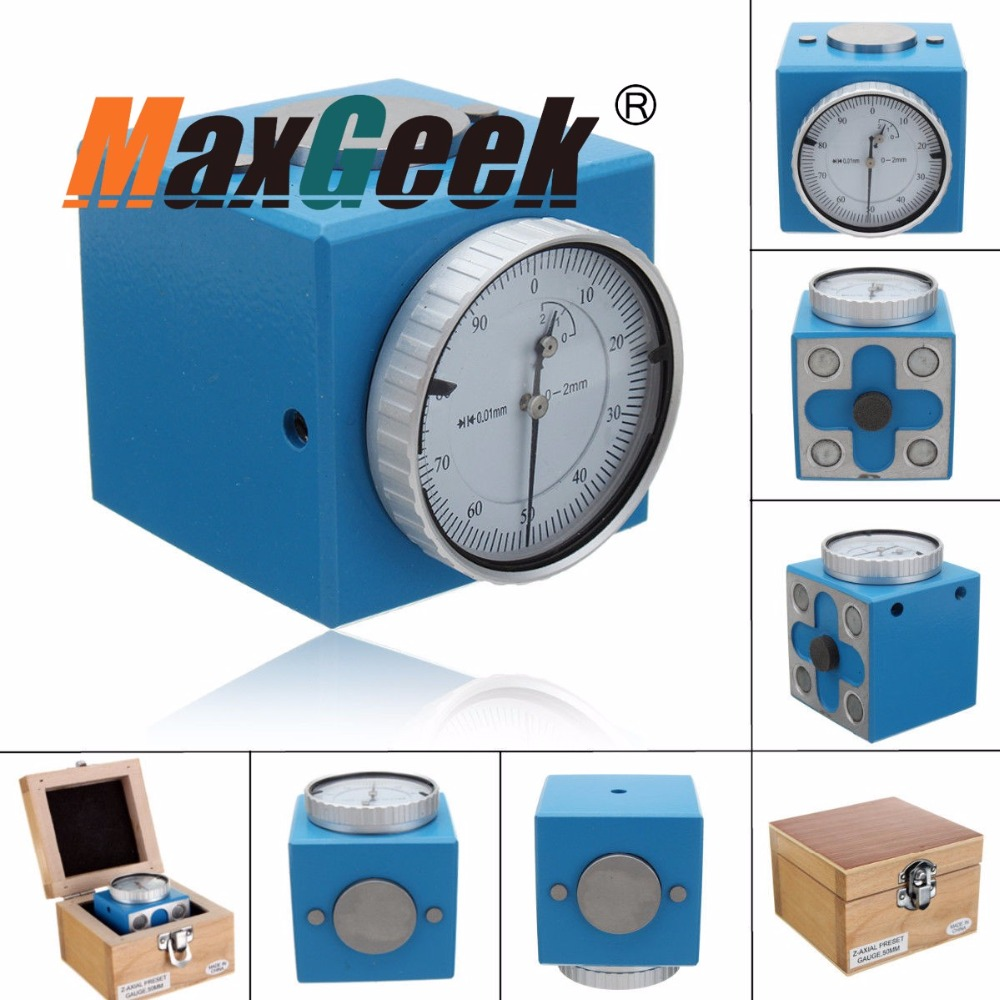 Magnetic Z Axis Tool Dial Zero Pre Setter .0004 Gage Offset CNC Metric RangeMagnetic Z Axis Tool Dial Zero Pre Setter .0004 Gage Offset CNC Metric Range