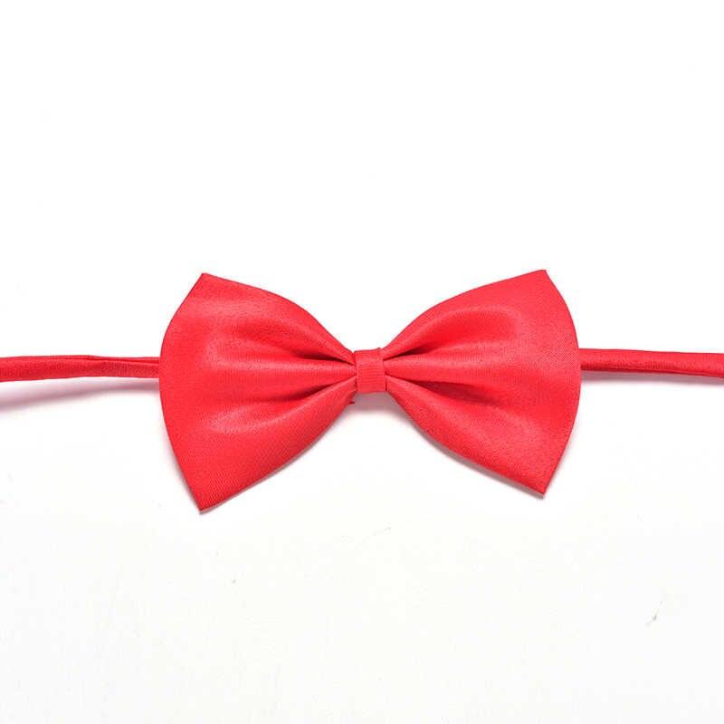 Kid Children Rắn Bow Ties Với Wedding Party Tie Khuyến Mãi Trai Pre-tied Điều Chỉnh Bowtie Bow Tie