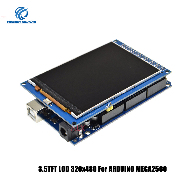 1PC 3.5Inch TFT LCD Display Module 320x480 For ARDUINO MEGA2560 320*480 LCD With Mega 2560