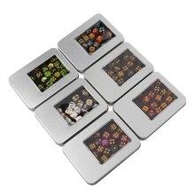 30 шт./компл. многогранные кубики Золотые номера для Дракон Pathfinder D20 D12 2xD10 D8 D6 D4 Цвет при доставке выбираются произвольно