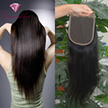 5x5 Lace Closure Brazlian Straight Human Hair Lace Closure Bleached Knots 8A Brazilian Virgin Human Hair Closure Free Shipping