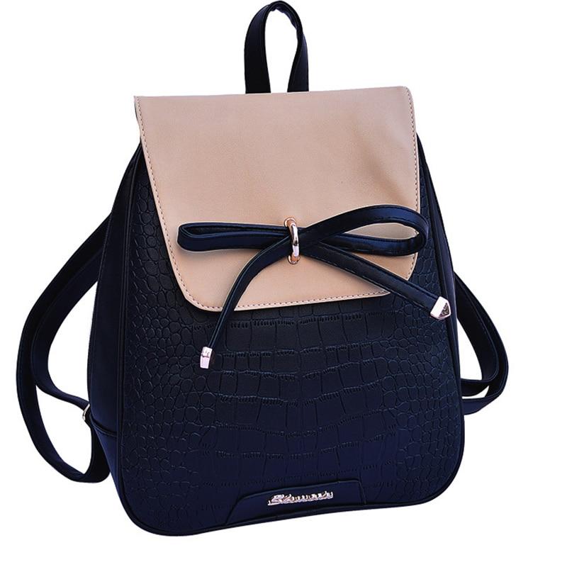 Mini Shool Backpack Women School Bags For Teenage Girls Kawaii Bow Rucksack Small Bagpack Girl Sac A Dos Backpack Female Mochila