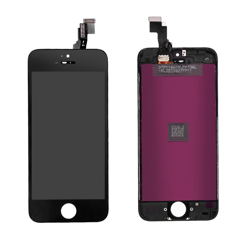 A++ Quality No Dead Pixel Screen For iPhone 5 / 5S / 5C LCD Display Touch Screen Digitizer Assembly Replacement Black And White