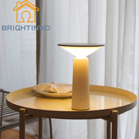 BRIGHTINWD New Small Desk Lamp To Learn The Reading of LED Desk Lamps That Shield An Eye Creative Touch USB Charging Night Light