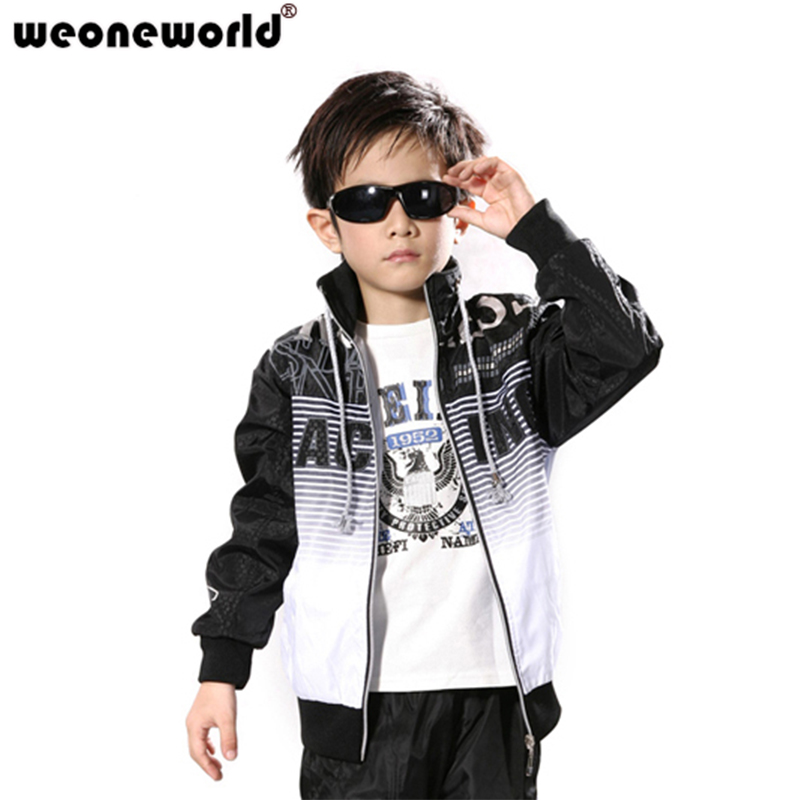Boys Suits Children's Clothing Teenage Autumn 3piece-Set Male WEONEWORLD Hoodies Twinset