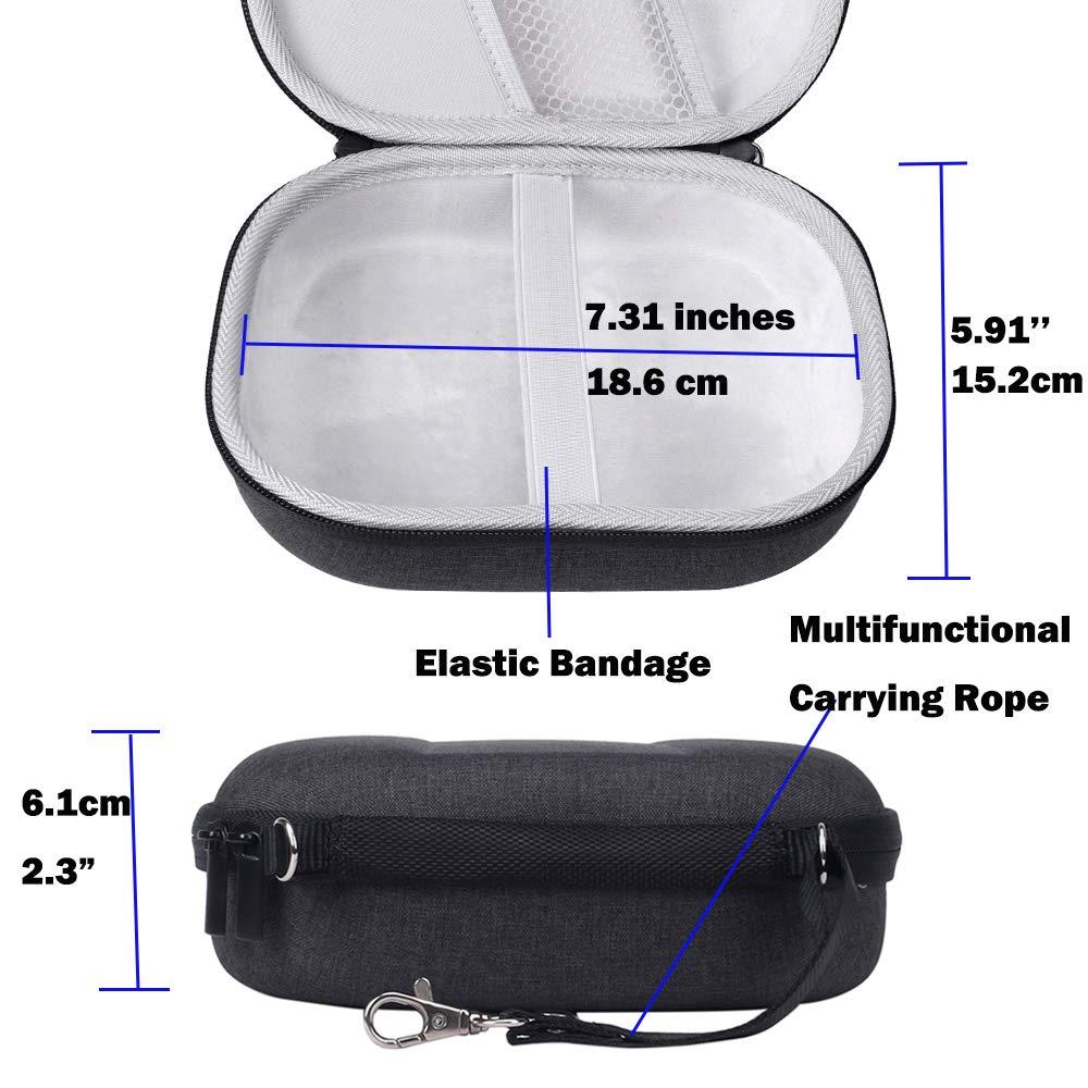 Жесткий Чехол для JBL E55BT беспроводные наушники Bose QuietComfort 35 Sennheiser PXC 550 Skullcandy Hesh 3 Защитная дорожная сумка