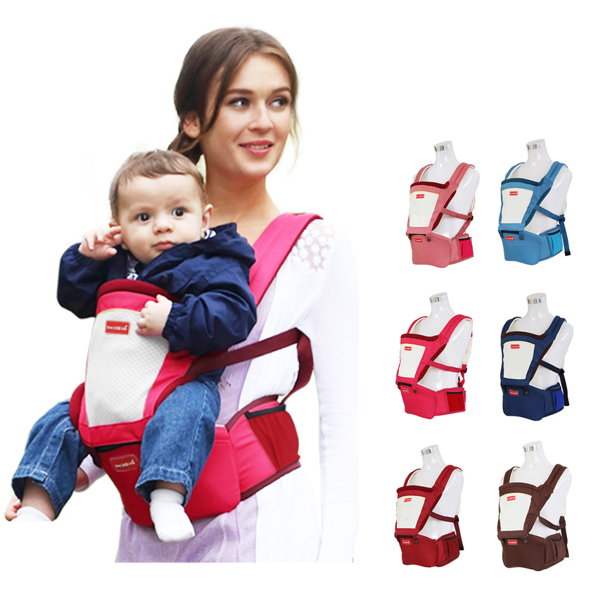 Baby Carrier Four Seasons Waist Stool General Multi-functional Hipseat Children Summer Breathable Baby Sling 3-36M 2016 sale hipseat sling sling baby bberoo multifunctional baby stool suspenders four seasons general breathable double shoulder