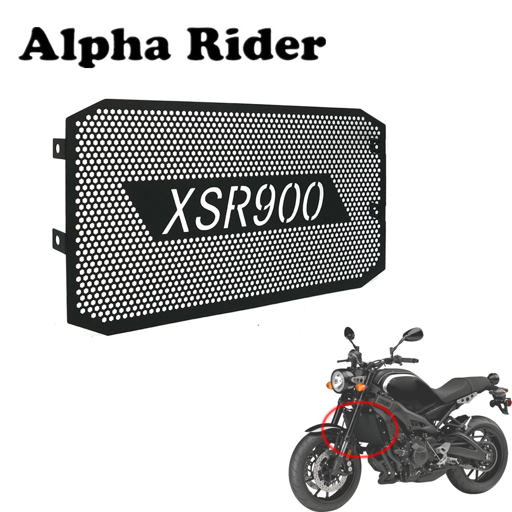 2016-2018 For Yamaha XSR900 XSR 900 Motorcycle Parts Radiator Guard Protection Grille Cover Black 2016 2017 2018 16 17 18 image