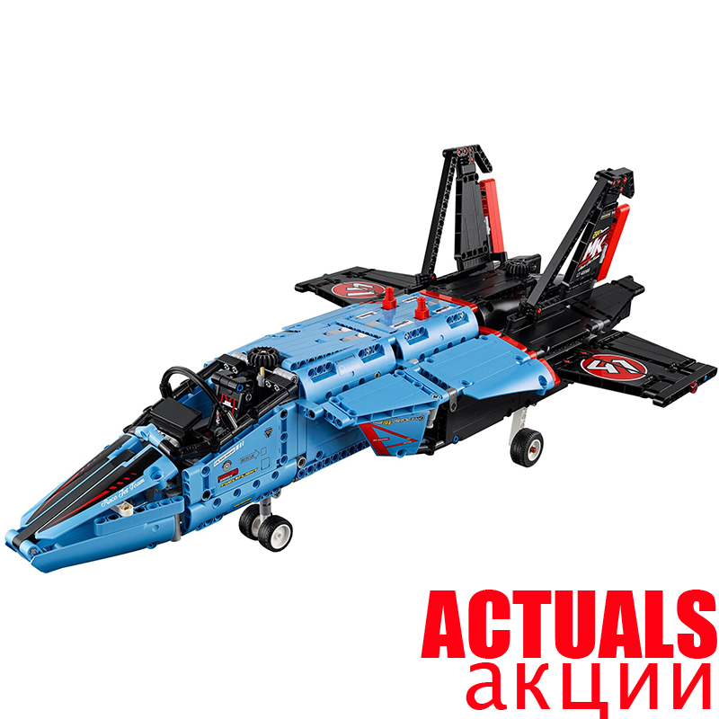 LEPIN Technic 20031 Air Race Jet Aircraft Model Building Blocks Brick Kits DIY Model Toys for children 1151pcs Compatible 42066 assemble 1 72 u s mv 22b osprey tiltrotor aircraft model 02231 blocks kits