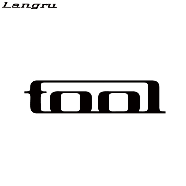 Langru hot sale tool band rock car window decal car accessories creative stickers jdm
