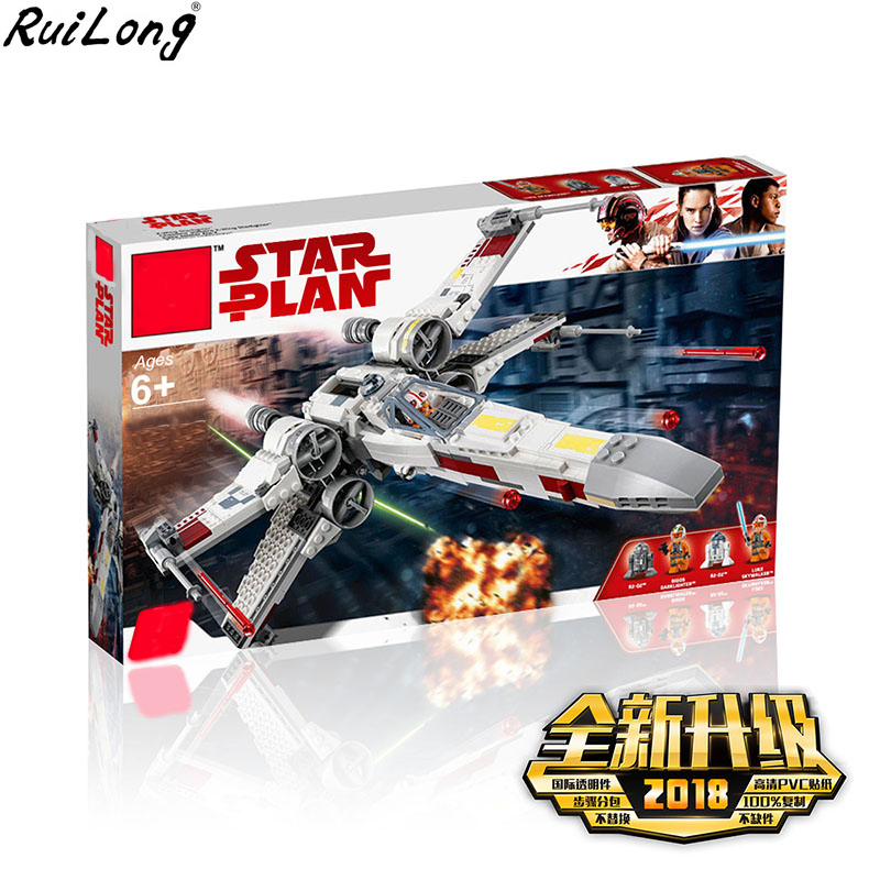 New Star Wars Series X-Wing Starfighter Compatible Legoing StarWars 75218 Building Blocks Bricks Toys Model Christmas Gifts Kids