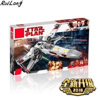 New Star Wars Series X Wing Starfighter Compatible Legoing StarWars 75218 Building Blocks Bricks Toys Model Christmas Gifts Kids