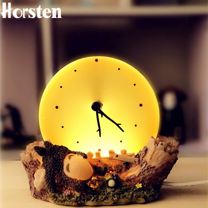 Horsten Creative Novelty Night Light Home Decoration Cartoon Design USB Powered LED Night Lights For Boys Girls Birthday Gifts