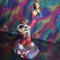 Оригинальный Гараж Комплект классическая игрушка 27 см кто оформил Кролик Роджер фильмы сцены момент фигурку Коллекционная модель игрушки