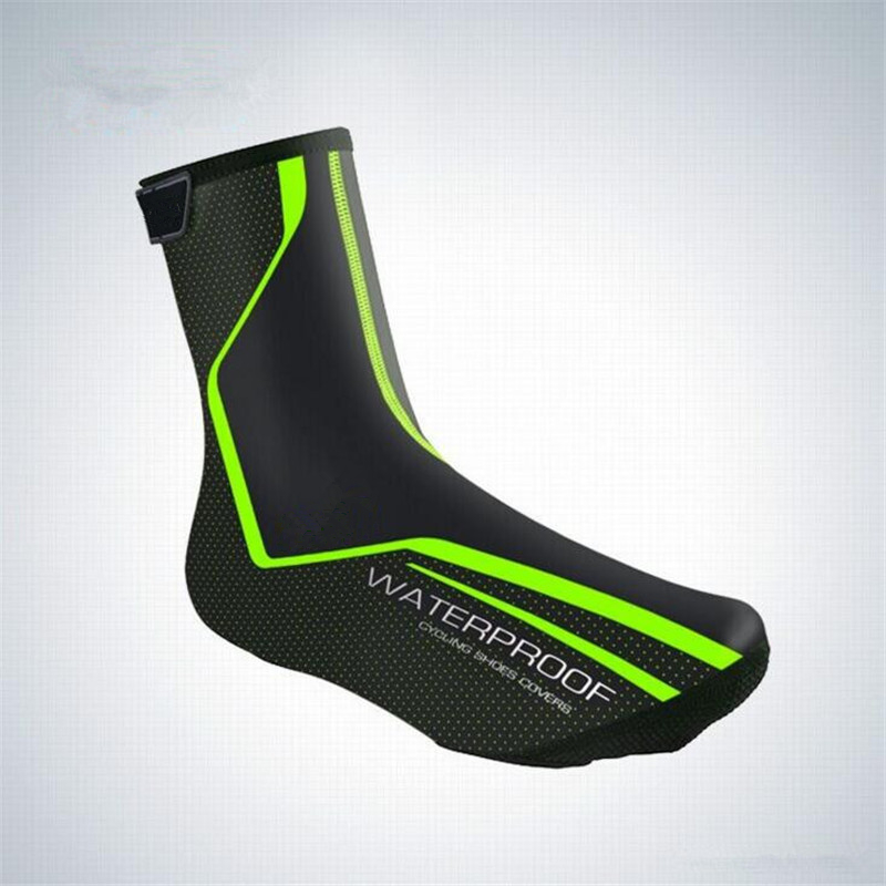 2018 Cycling Shoe Cover Reflective Waterproof Windproof Warm Shoe Covers Bicycle Overshoes MTB Bike Road Ciclismo Boot Cover
