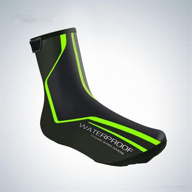 2018 cubierta de zapatos de Ciclismo reflectante impermeable a prueba de viento cubiertas de zapatos de bicicleta sobrezapatos MTB Bike Road Ciclismo Boot Cover