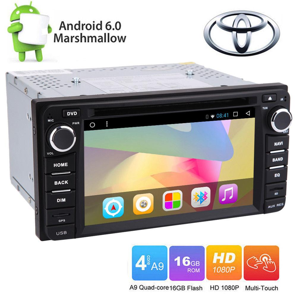 6.2in Android 6.0 Car DVD GPS Stereo Quad Core For TOYOTA Corolla EX 2008~2013