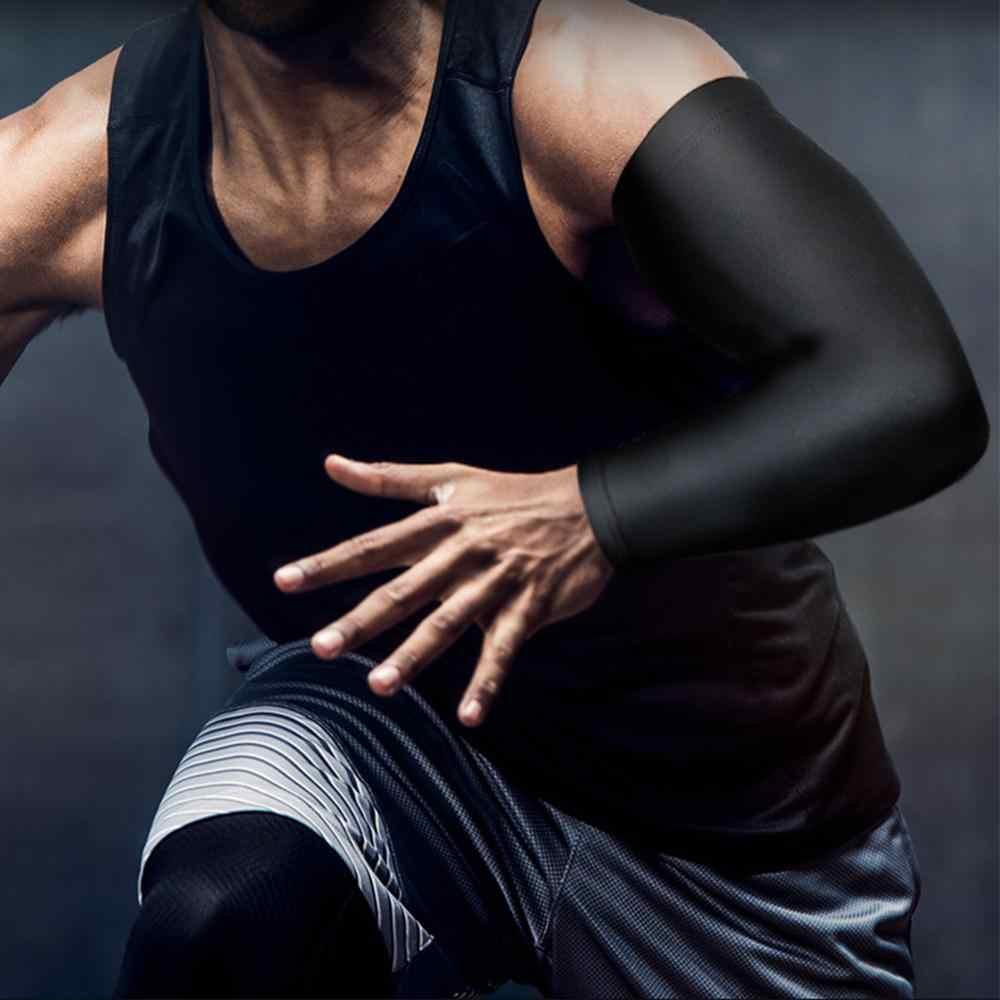 REXCHI 1PC Manica del Braccio di Sport Tessuto di Ghiaccio di Manga Più Caldo di Estate UV di Protezione Corsa e Jogging Basket Pallavolo Ciclismo Protezione Solare Fasce