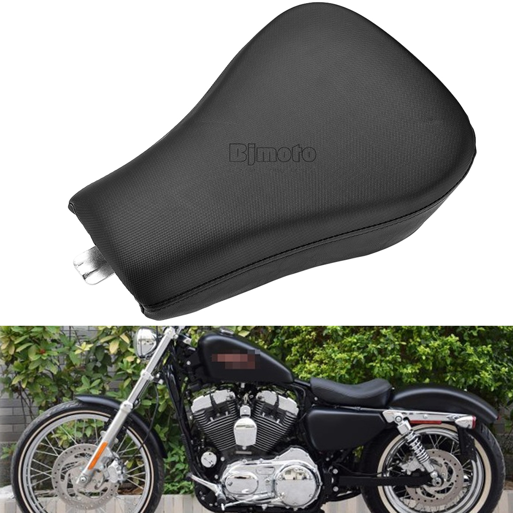 BJGLOBAL Front Driver Solo Seat Cushion Pad For Harley Sportster XL 1200 883 Forty Eight XL1200X Seventy Two XL1200V