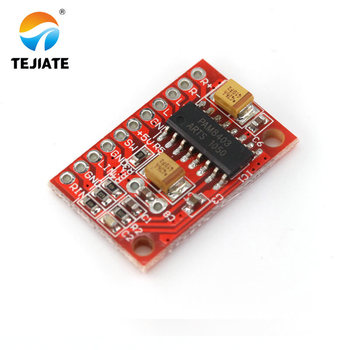 3W*2 Mini Digital Power Audio Amplifier Board DIY Stereo USB DC 5V Power Supply PAM8403 usb power purifier filter 25w dc linear power supply for digital interface cas
