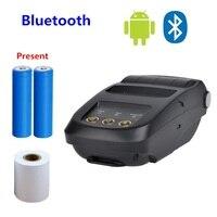 58mm Mini Bluetooth Printer Android Thermal Printer Wireless Receipt Printer Mobile Portable Small Ticket Printer
